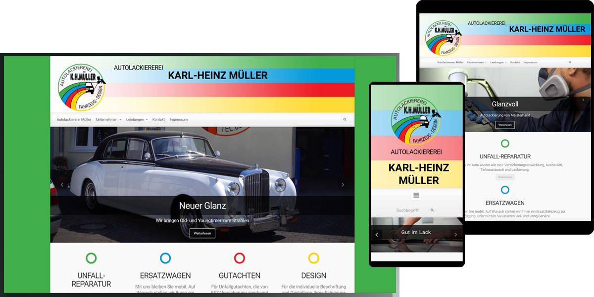 Autolackiererei Karl-Heinz Müller, Wörrstadt