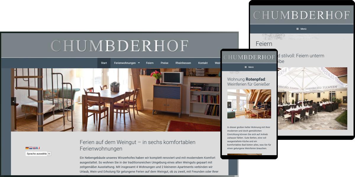 Chumbderhof - Ferienwohnungen, Bornheim