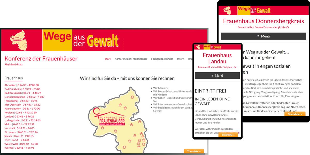 Frauenhäuser Rheinland-Pfalz von Ahrweiler bis Worms