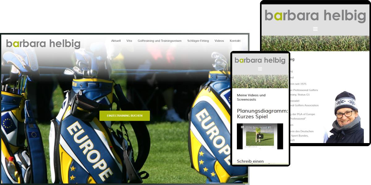 Golfkompetenz | Barbara Helbig