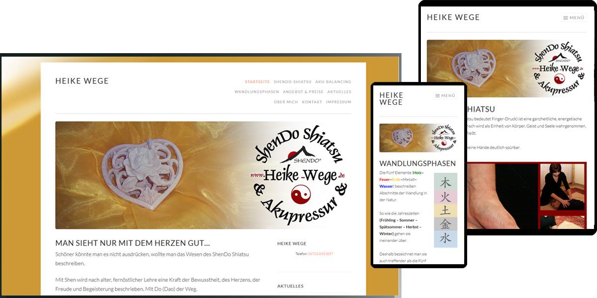 ShenDo Shiatsu & Akkupressur | Heike Wege