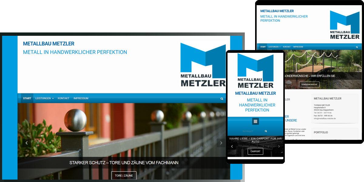 Metallbau Metzler, Thomas Metzler, Gau-Heppenheim