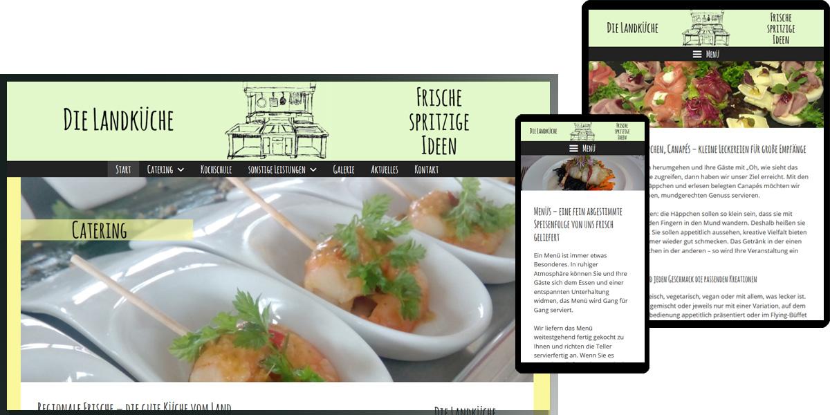 Die Landküche | spritzige frische Ideen
