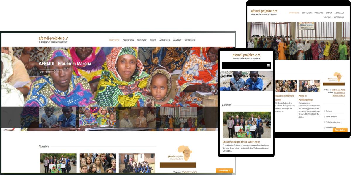 afemdi-projekte Deutschland e.V. | Chancen für Frauen im Kamerun