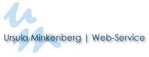 Ursula Minkenberg – Web-Service