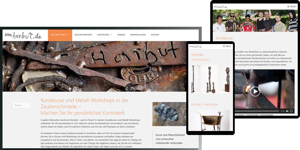 Joachim Harbut - Metallkunst